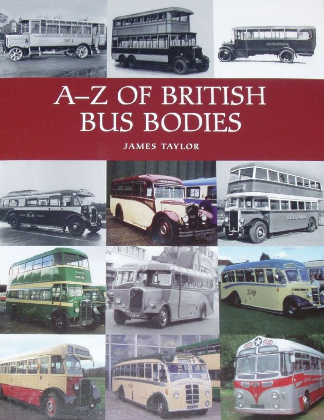 A-Z of British Bus Bodies, by James Taylor